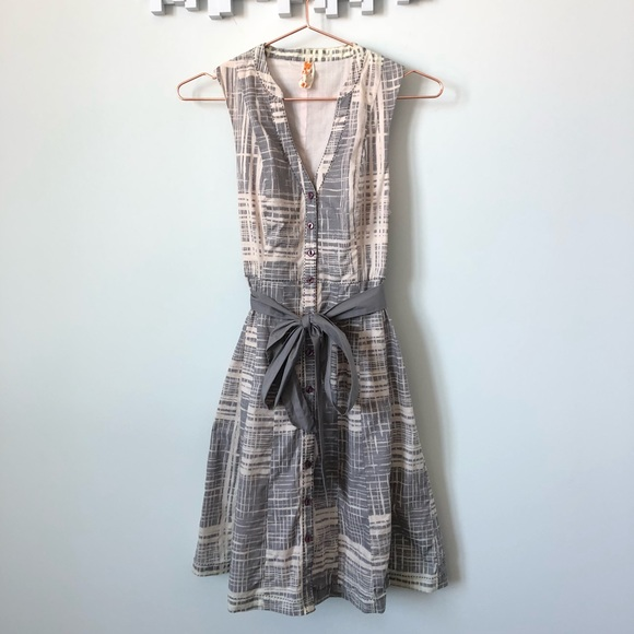 74f38616ad1c4 Anthropologie Dresses   Skirts - Maeve • sleeveless shirt dress with tie  waist